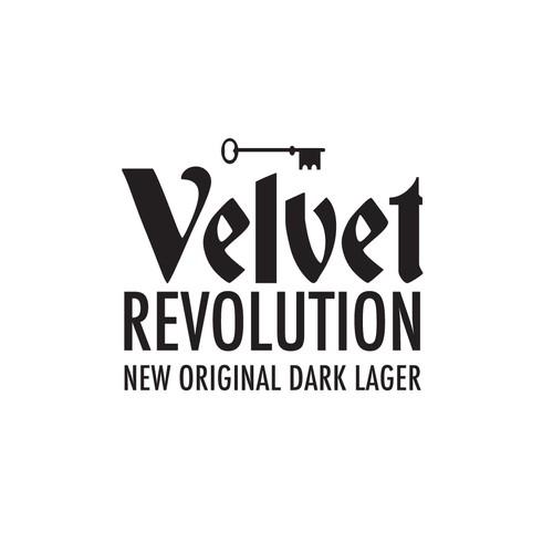 Velvet Revolution lager logo