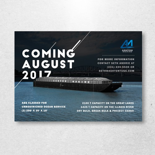 Ads design for Ashton Marine