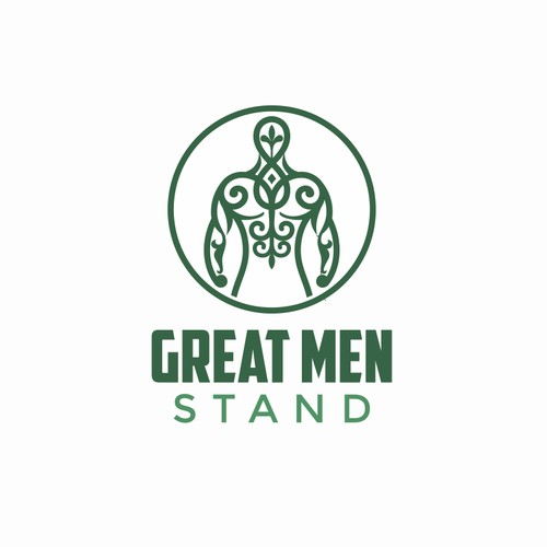 Logo for Great Men Stand