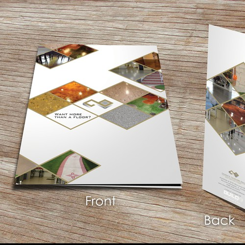 Concrete Finishers Group needs a presentation folder to help sell