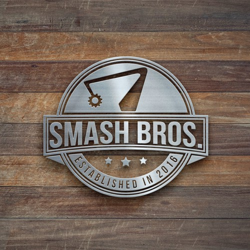 "Create a Vintage ""Established In"" Logo for Smash-It"