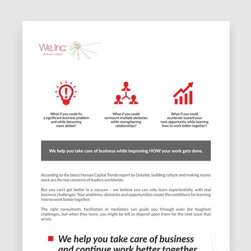 We, Inc. Book Re-Design