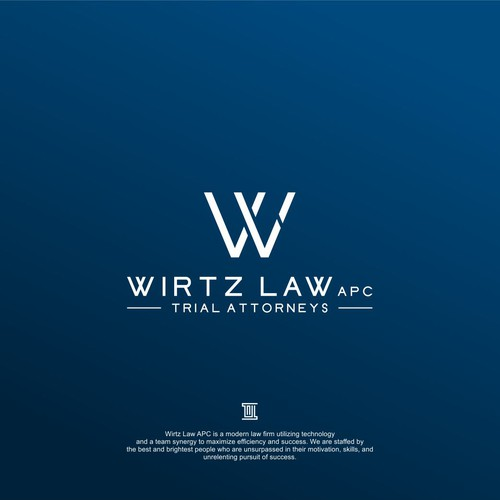initial design concept for wirtz law apc