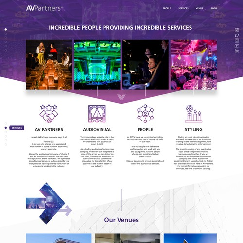 Web Design for AVPartners