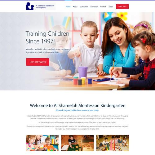 kindergarten website