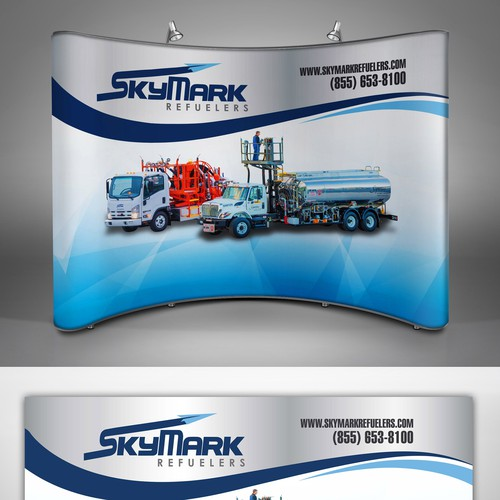 SkyMark BackDrop for 10x10 Show Booth