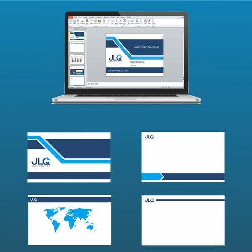 Powerpoint template JLQ technology