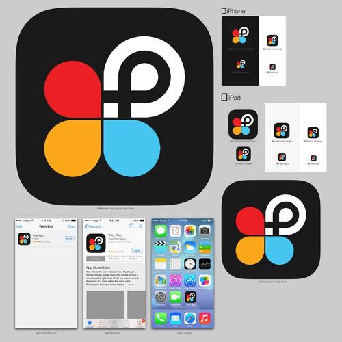 PicsArt icon design