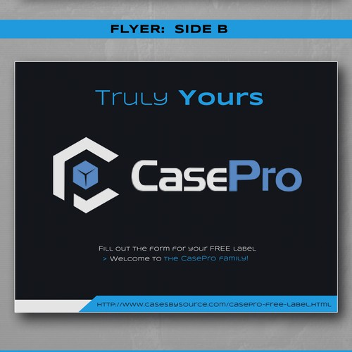 Flyer for Cases Company