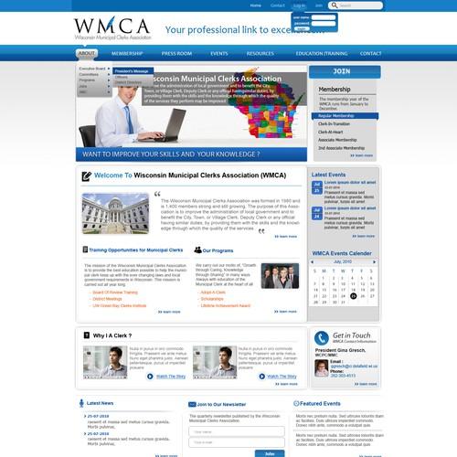 Association Website Needs A New Clean Look