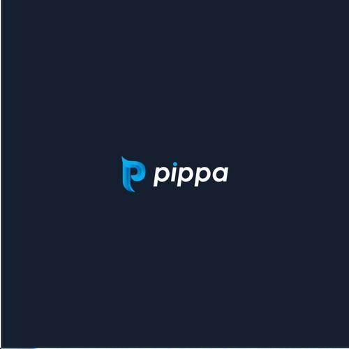 minimal pippa logo
