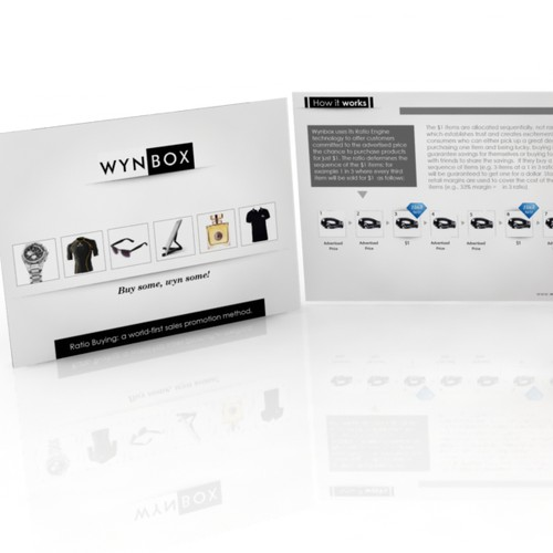 Create the next product brochure design for Wynbox