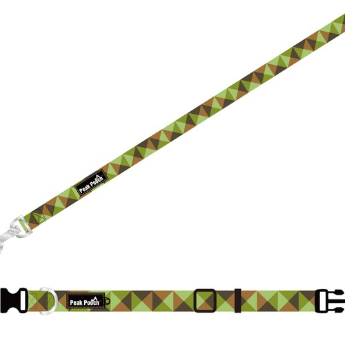 Camo Dog Leash/Collar Design