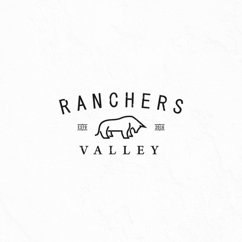 Ranchers Valley with Bull