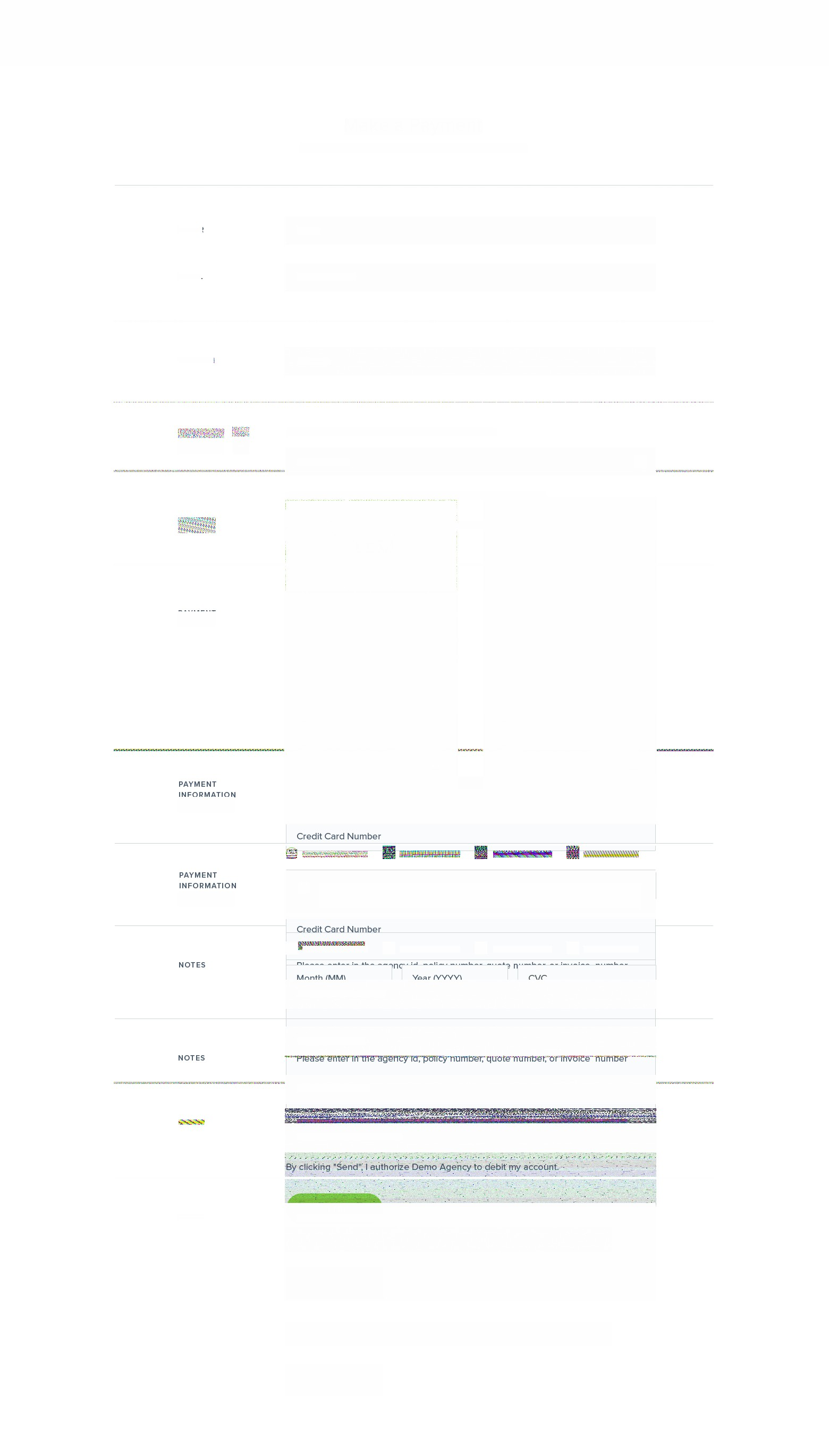Revamped design for our hosted payment page