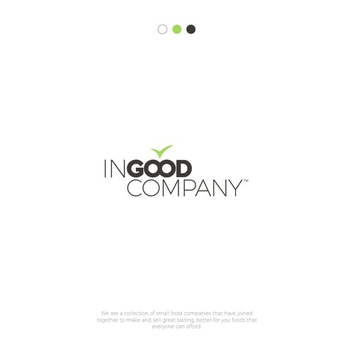 logo concept for food company