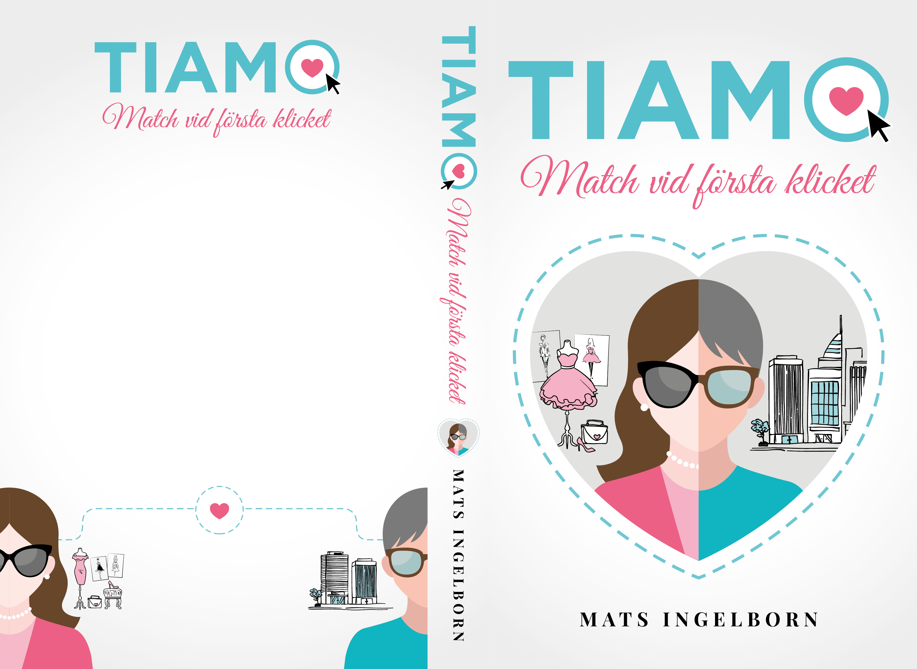 """Cover for modern """"feel good"""" novel"""