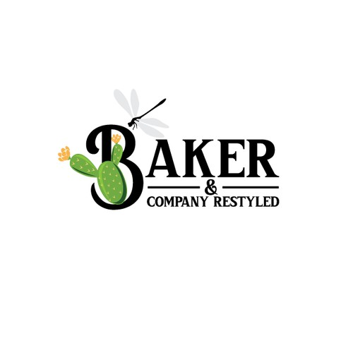 Logo concept for Baker & company restyled