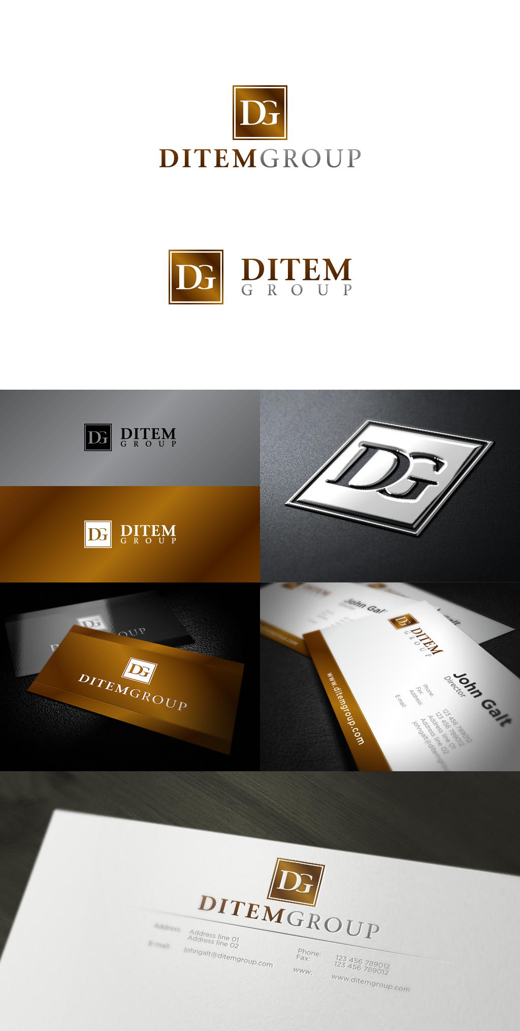 Help Ditem Group with a new logo