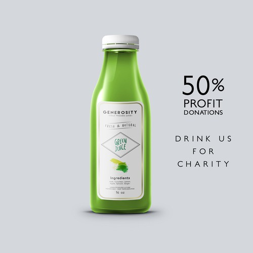 Generosity - cold pressed juice