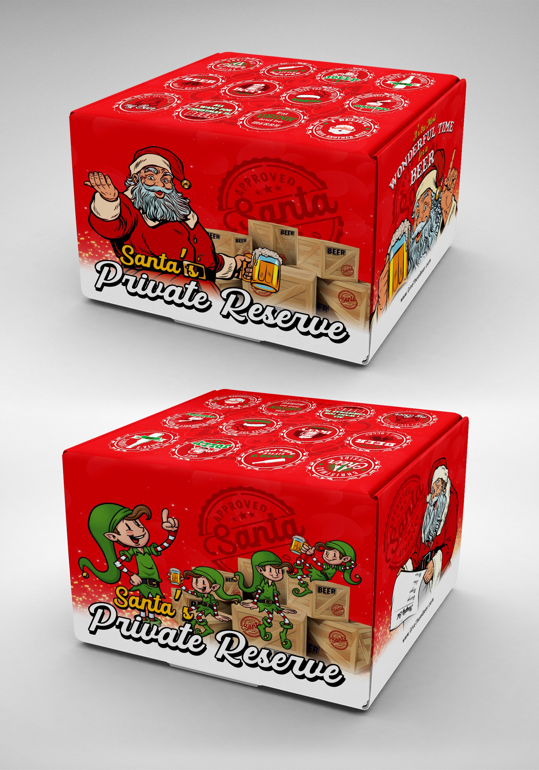 Santa's Private Reserve Beer Box