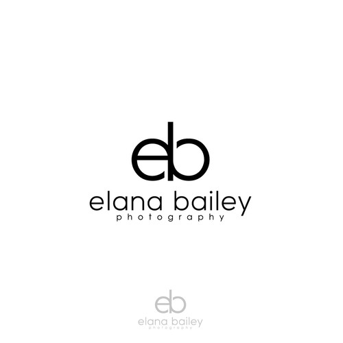 Creating a logo for a quality wedding and portraiture photographer