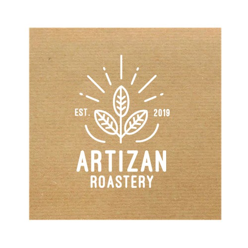 Logo for an ecological coffee roastery working with sun-energy