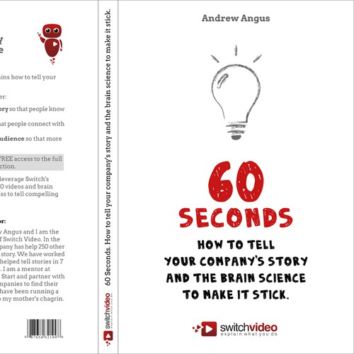 Book cover for Switch Video - 60 Seconds: How to tell your companies story.
