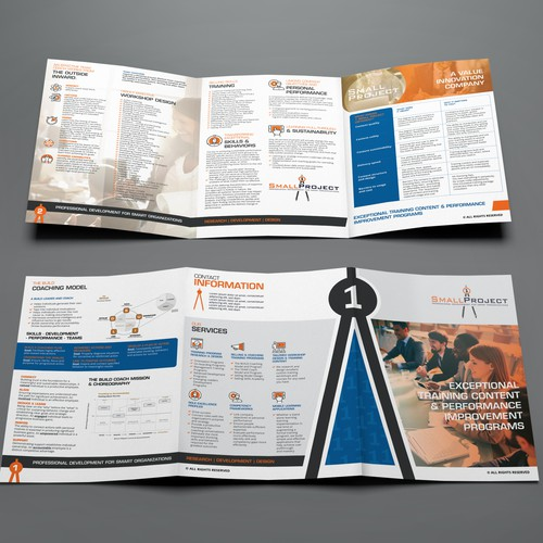 1 Small Project Trifold Brochure