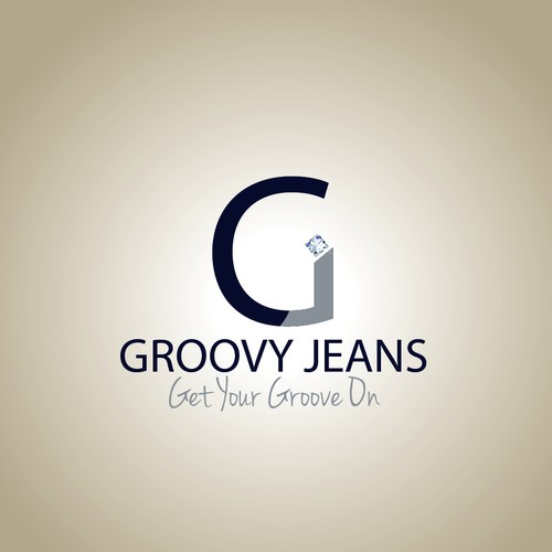 CREATE A LOGO THAT BLINGS FOR GROOVY JEANS