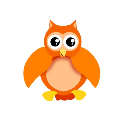 a cartoon character of owl