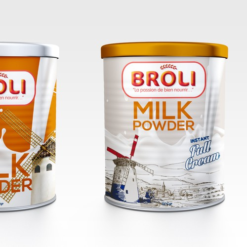 Broli Milk Powder needs a face!!