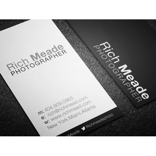 p and coming photographer needs some branding