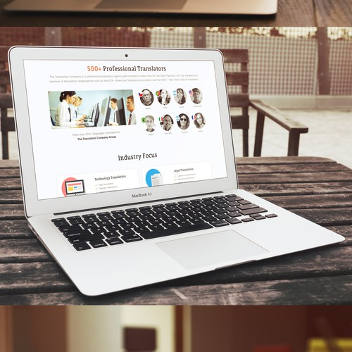 Translation Company's Homepage