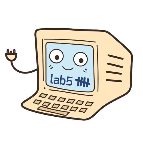 Cute retro computer
