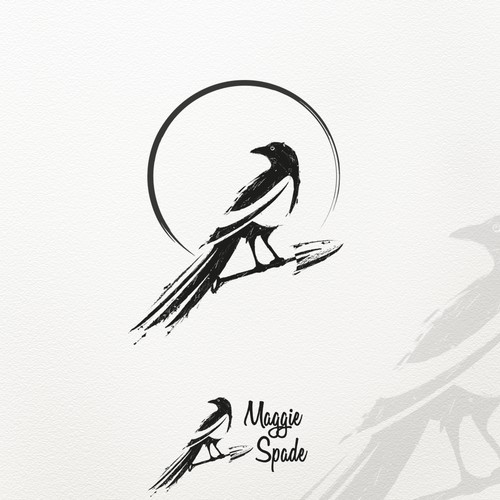 Bird themed logo for blogger