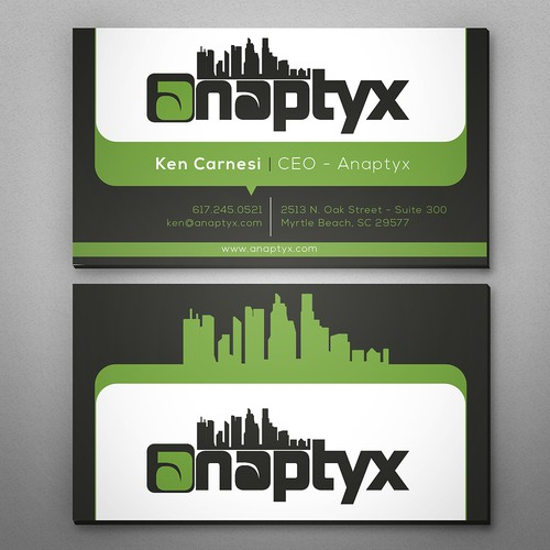 Business Card for Modern Wireless ISP
