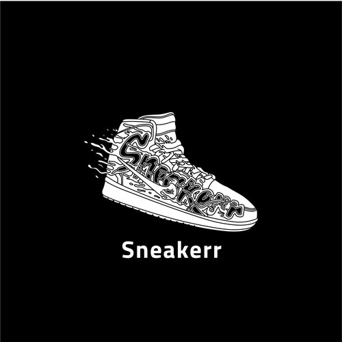 Shoes typography