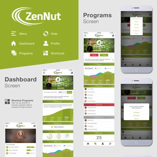 ZenNut App Designs