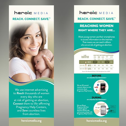 Design Eye-catching Event Banners for Heroic Media