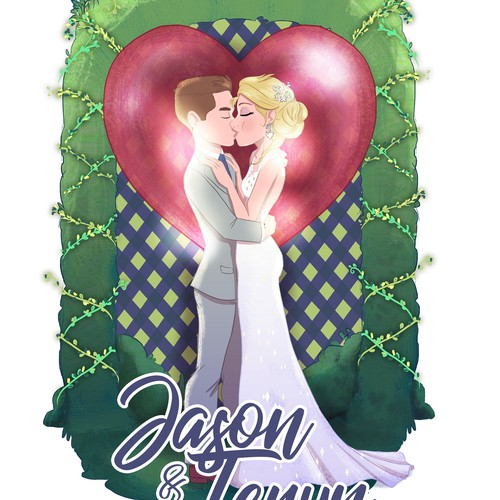 Wedding Gift Illustration