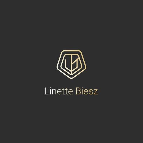 Logo abstract monoline