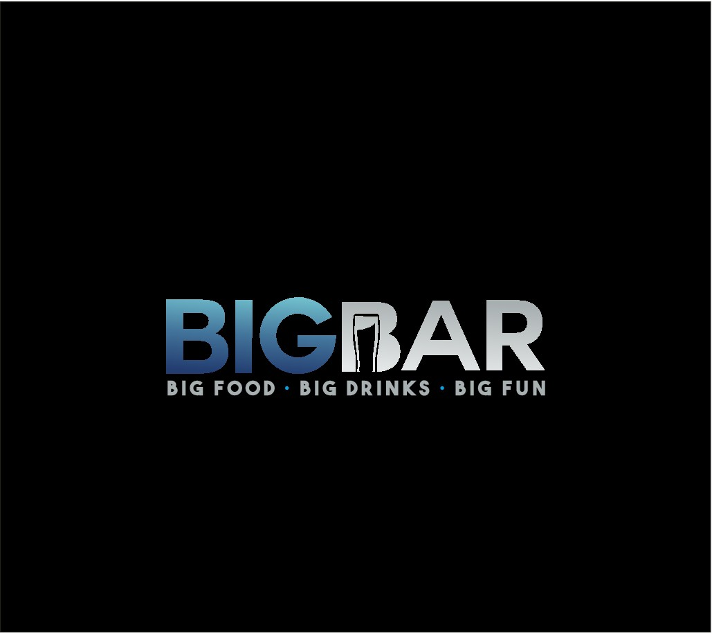 Big Bar, where everything is BIG, needs a Big logo!