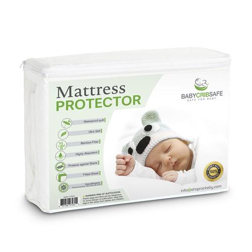 Baby Msttredd Protector label design