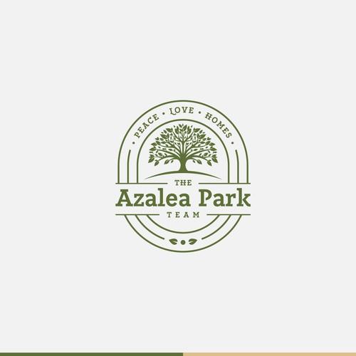 Logo concept for Azalea Park