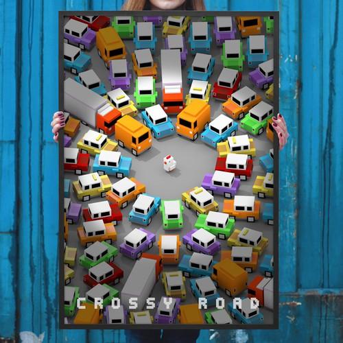 merchandise designs for crossy road