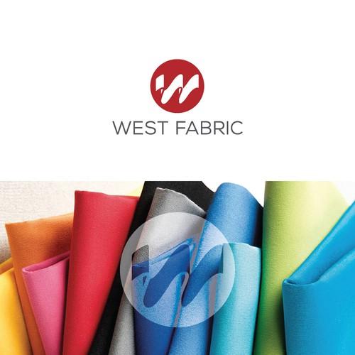 Logo for a textile company