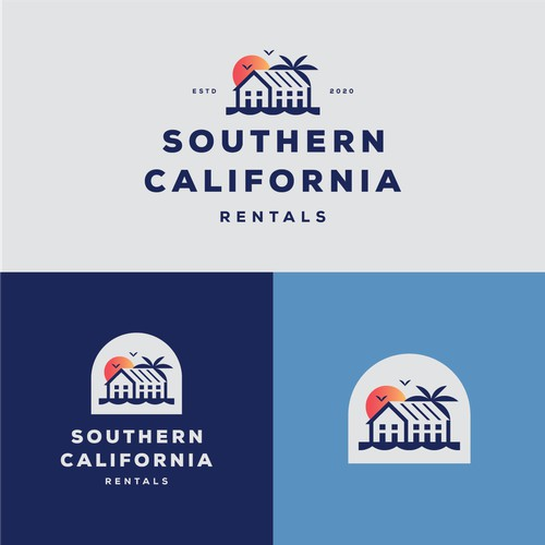 Bold logo for SC Rentals
