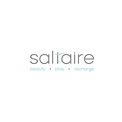 Simple design for the company Saltaire