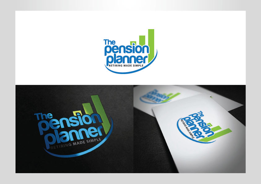 The pension planner needs a new logo